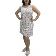 Camisola Regata com Estampa de Flores - Rosemari