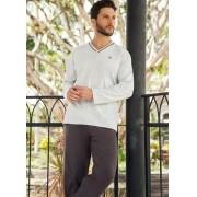 Pijama Masculino de Inverno em Algodão Pzama 052075