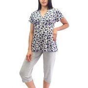 Pijama Pescador Meia Estação Transpassado Foxx 262399