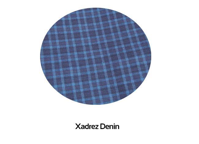 Calça Avulsa Masculina Xadrez de Algodão Foxx 262330