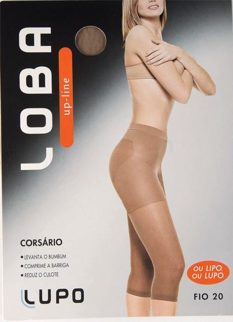 Calça Corsário Modeladora Lupo 5865-01