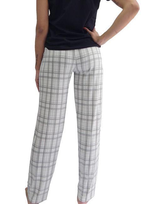 Calça Feminina Avulsa Estampado com Bolsos Foxx 262903