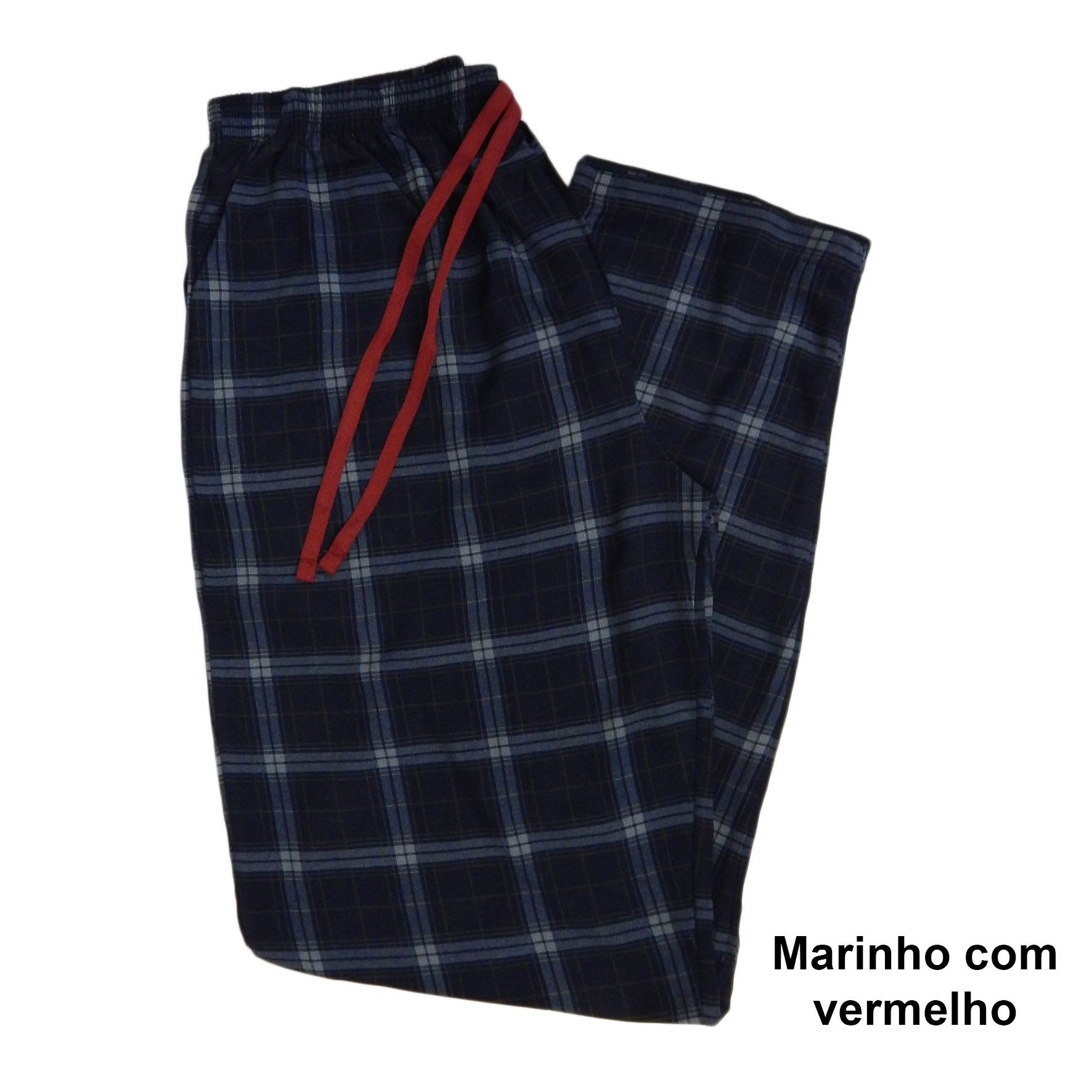 Calça Feminina Avulsa Viscose Molinha Xadrez Foxx 263297