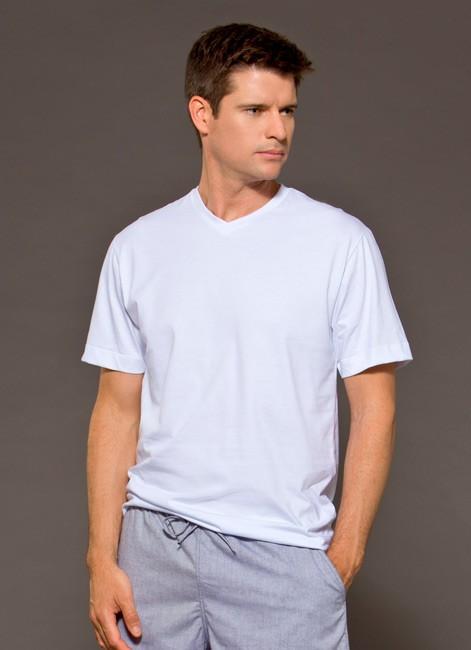 Camiseta Masculina Básica Avusla de Algodão Foxx 262038
