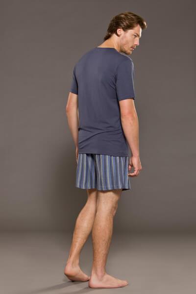 Camiseta Masculina Básica Avulsa de Algodão Foxx 262038