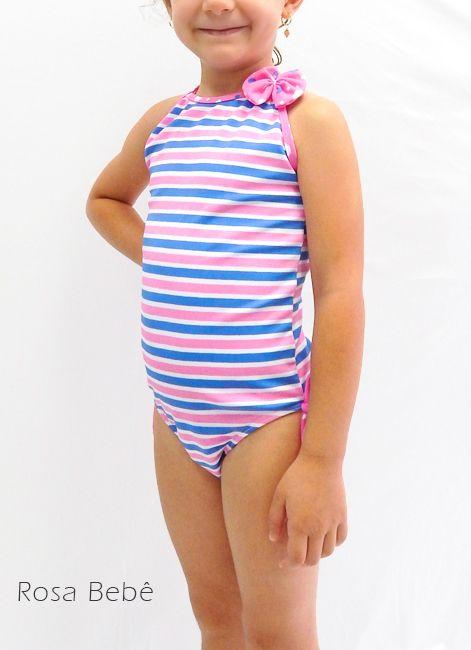 Maiô Clássico Infantil com Estampa Divertida Foxx 266002