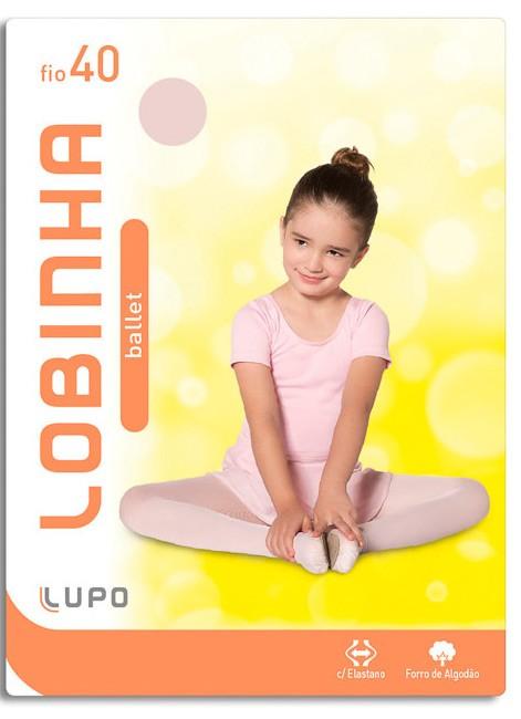 Meia Calça Infantil Ballet Fio 40 Lupo 2520-01