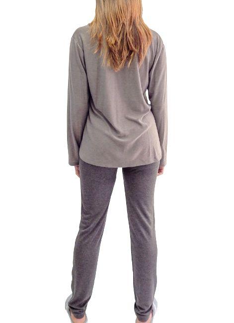 Pijama Feminino de Inverno em Viscose Foxx 262304