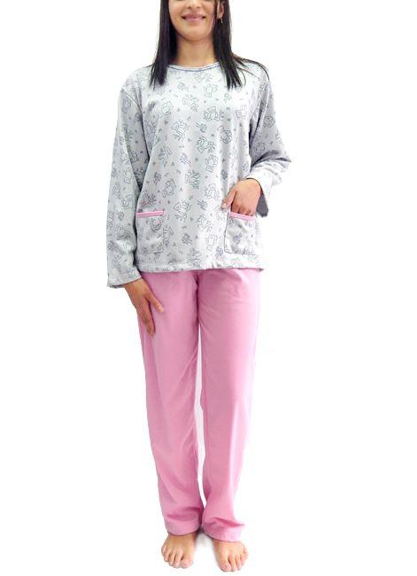 c17ce2800 Pijama Feminino Grosso de Inverno Flanelado | Foxx - Intimitat