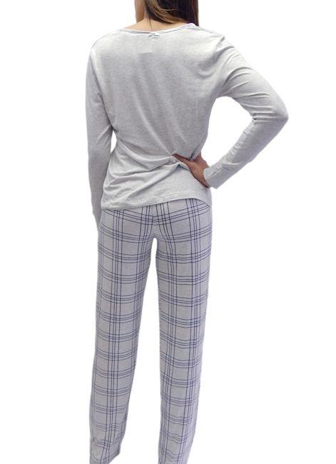 Pijama Feminino Manga Longa com botões Foxx 263167