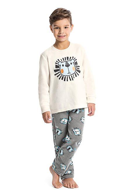 a3cecbec8 Pijama Infantil Menino Estampado de Soft 42759 Malwee Liberta 088034