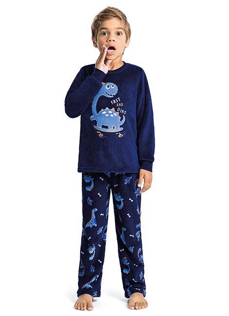 0e32dbcf3 Pijama Infantil Menino Estampado de Soft 42760 Malwee Liberta 088033