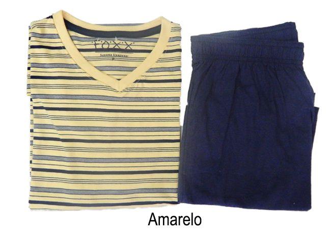 Pijama Masculino Curto de Verão em Algodão Foxx 262813