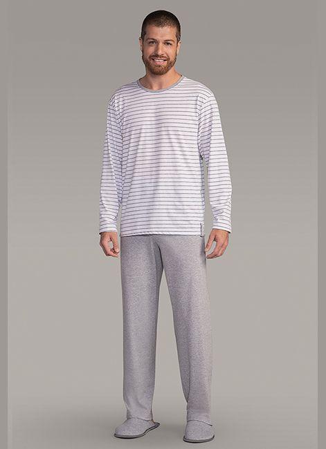 a5aefacce Pijama Masculino em Algodão Lua Encantada