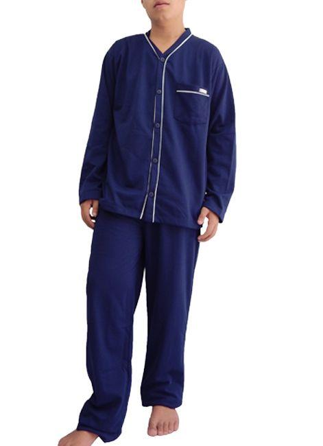 """Pijama Masculino Longo Flanelado Decote em""""V""""  Foxx 262579"""