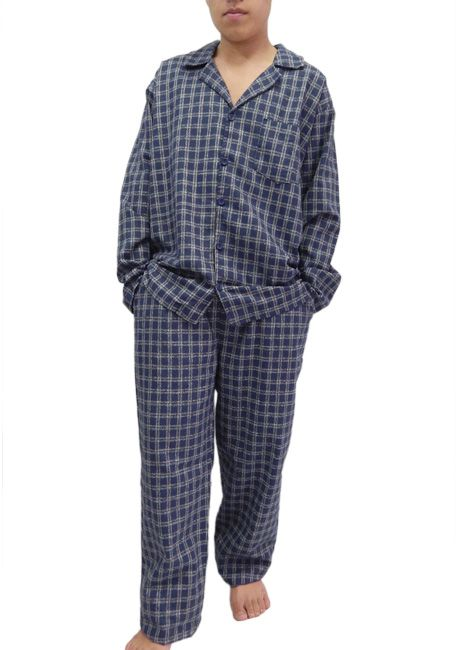 Pijama Masculino Manga Longa Flanelado Foxx 262054