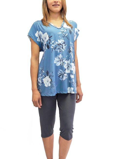 Pijama Pescador Estampado de Liganete Foxx 320037