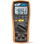 HT701 Multímetro True RMS com megômetro até 1KV