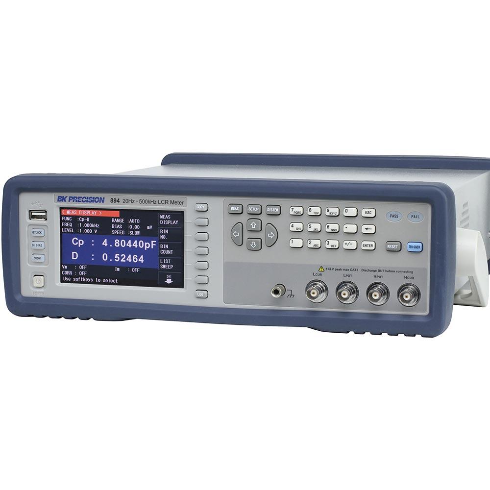 894 Ponte LCR de Bancada B&K Precision até 500KHz