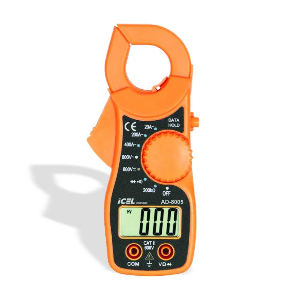 Alicate Amperímetro Digital ICEL AD-8005