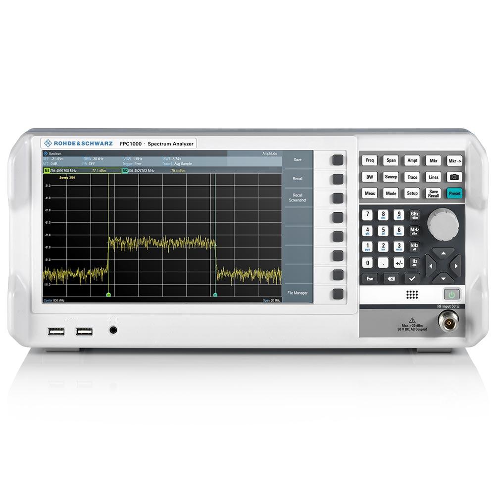 Analisador de Espectro Rohde & Schwarz FPC1000 3GHz