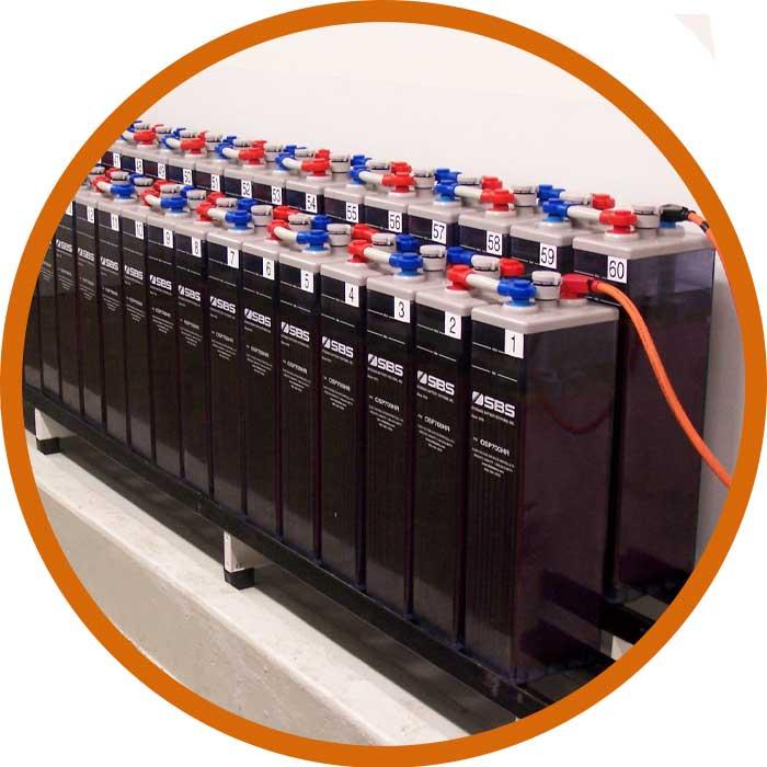 Teste de Bateria em Laboratório