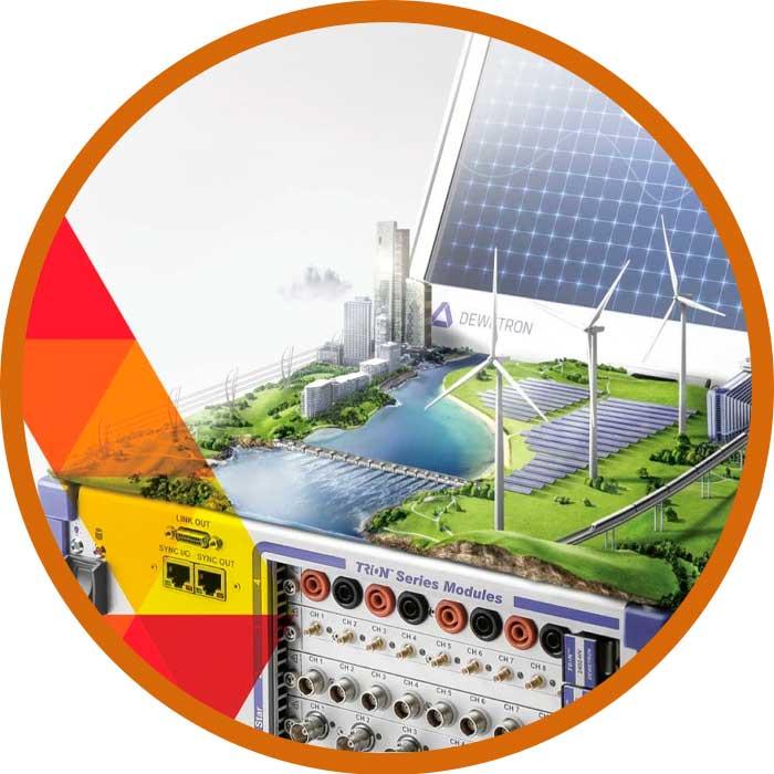 Análise de Potência & Qualidade de Energia