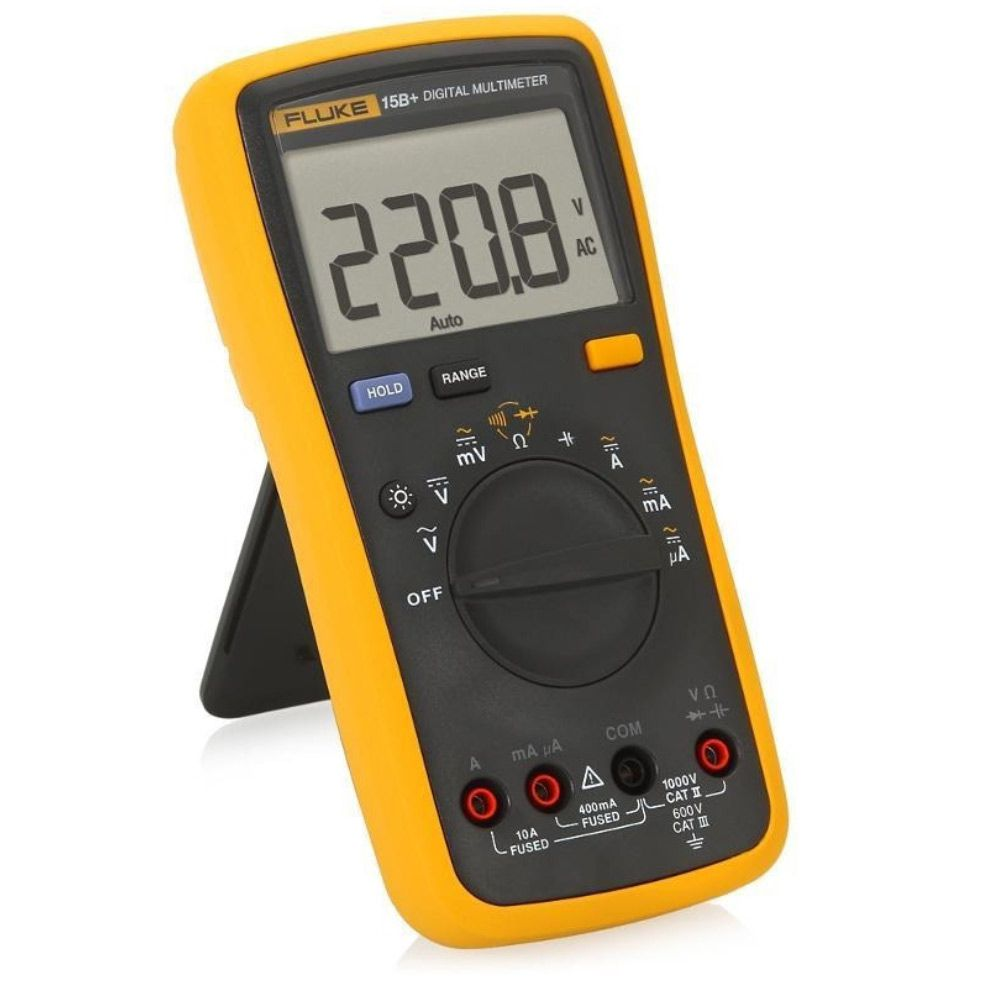 FLUKE 15B+ Multímetro Digital Fluke Preciso e Robusto