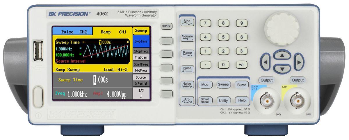 Gerador de Função e Onda Arbitrária 5MHz 4052B BK Precision