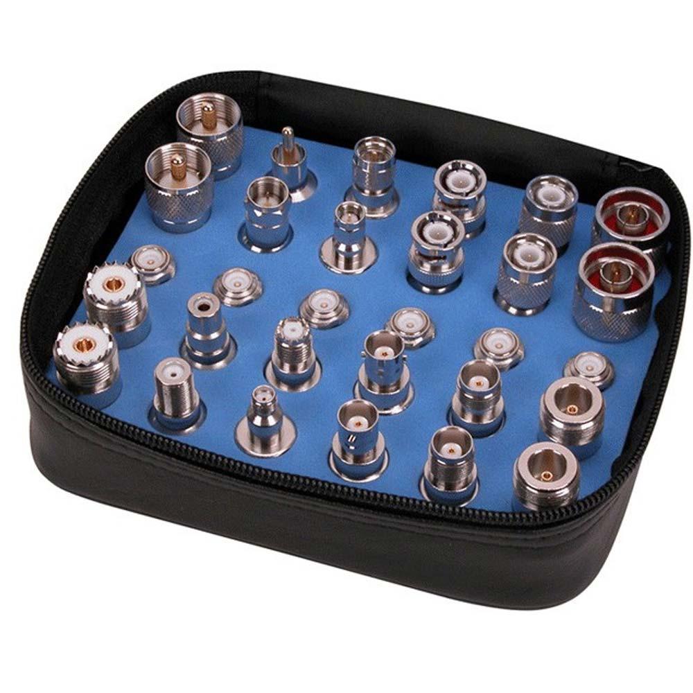 Kit Universal de Adaptadores Coaxiais 30 peças