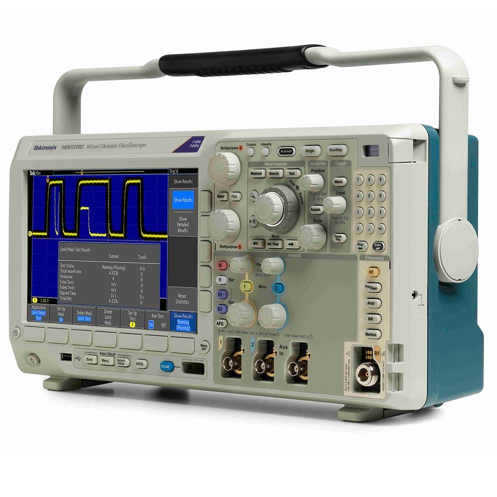 MDO3012 Osciloscópio Tektronix 100MHz 2 Canais