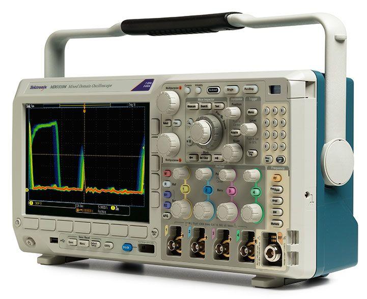 MDO3014 Osciloscópio Tektronix 100MHz 2 Canais
