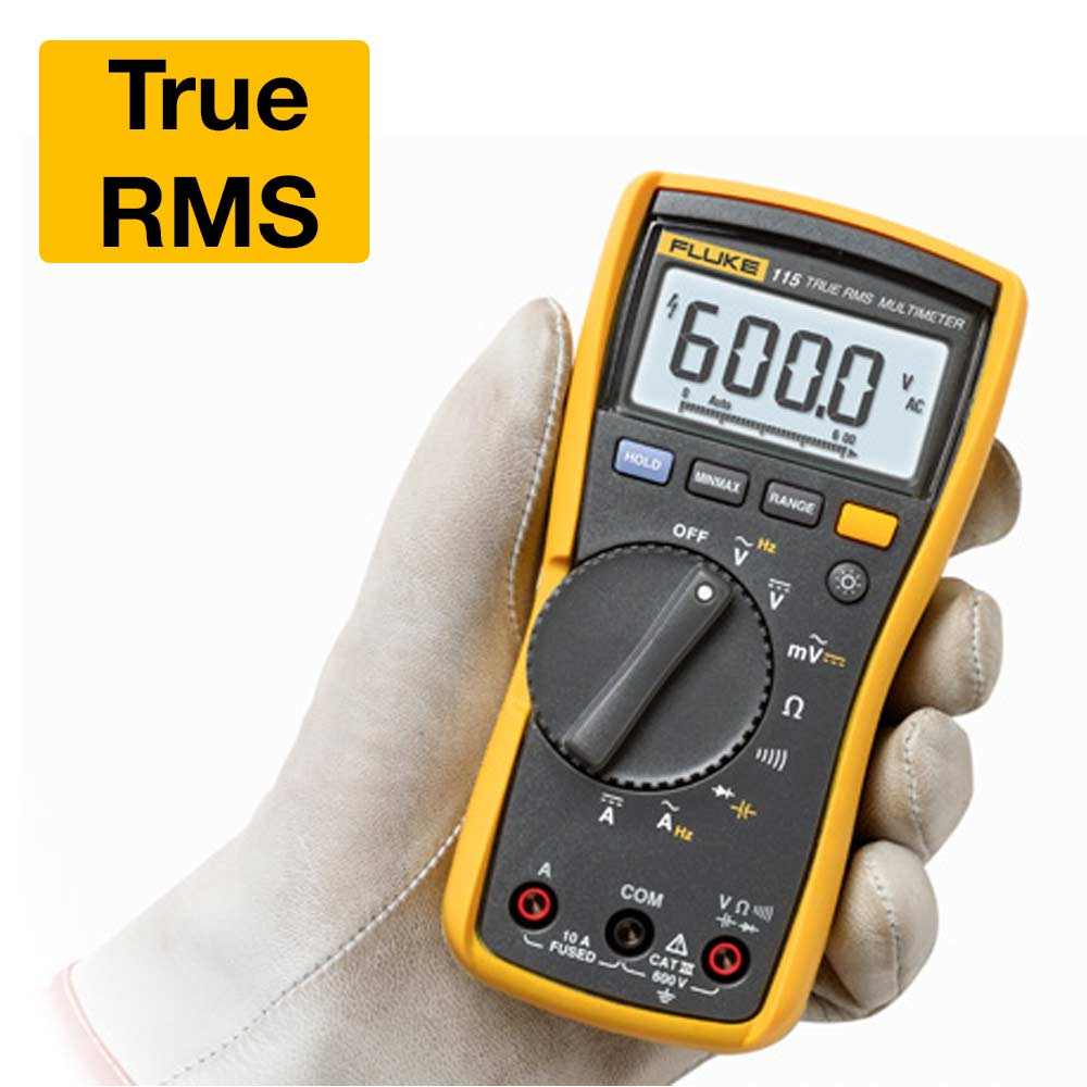Multímetro Digital FLUKE True RMS 115  CATIII 600V