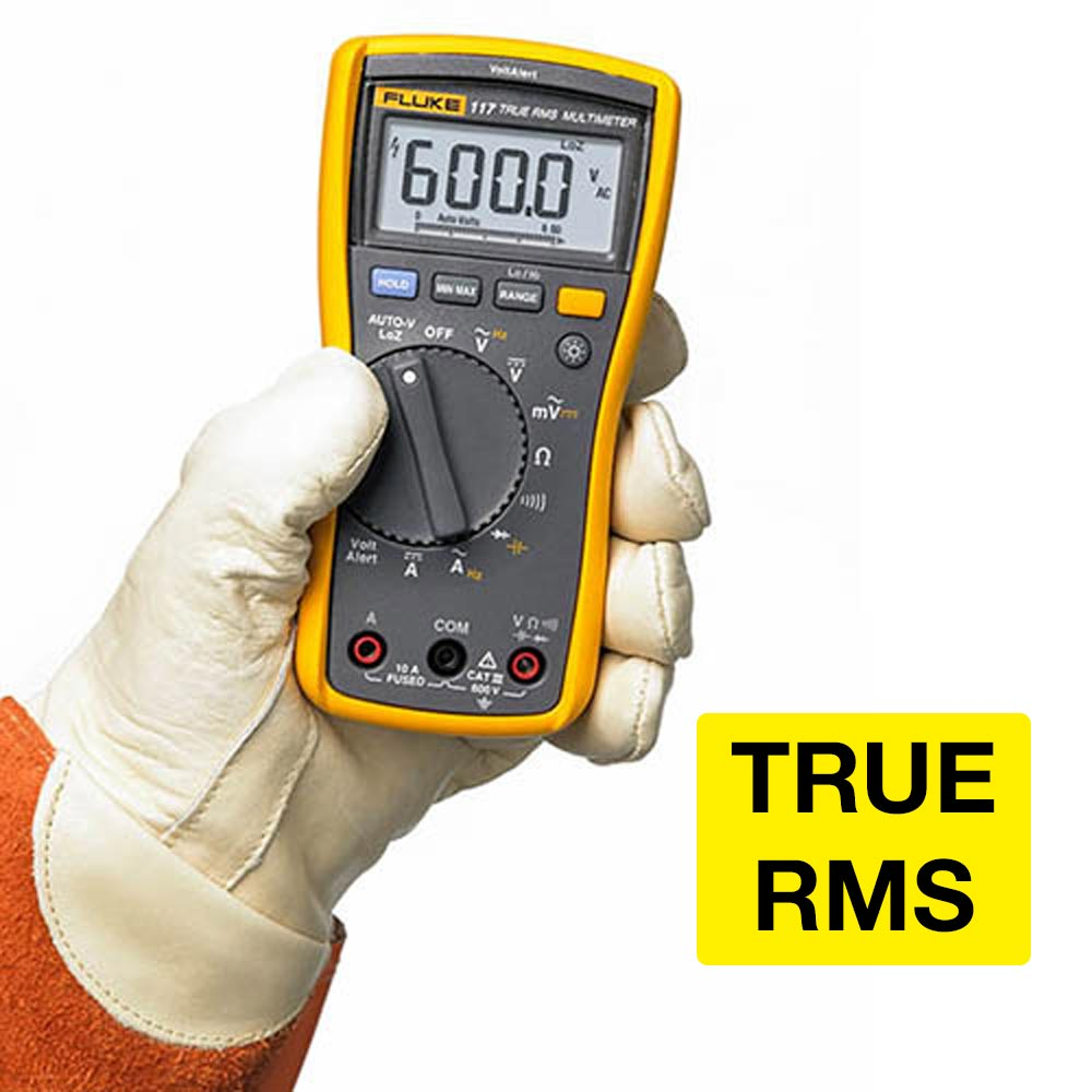 Multímetro Digital True RMS Fluke 117 - CATIII 600V
