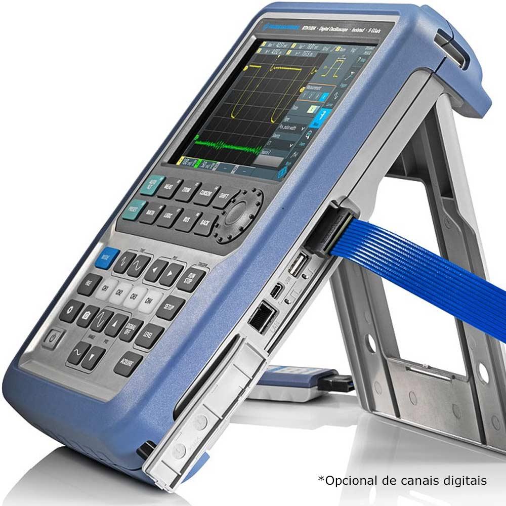 RTH1004 Osciloscópio de canais isolados 60MHz 4 Canais