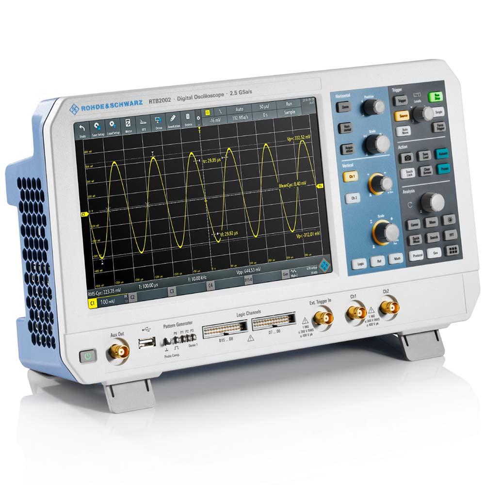 RTB2002 Osciloscópio Rohde & Schwarz 100MHz 2 canais