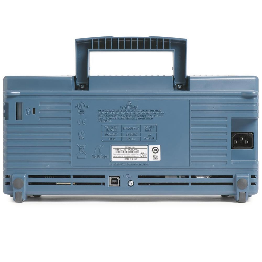 TBS1102B Osciloscópio Tektronix 100MHz 2 Canais