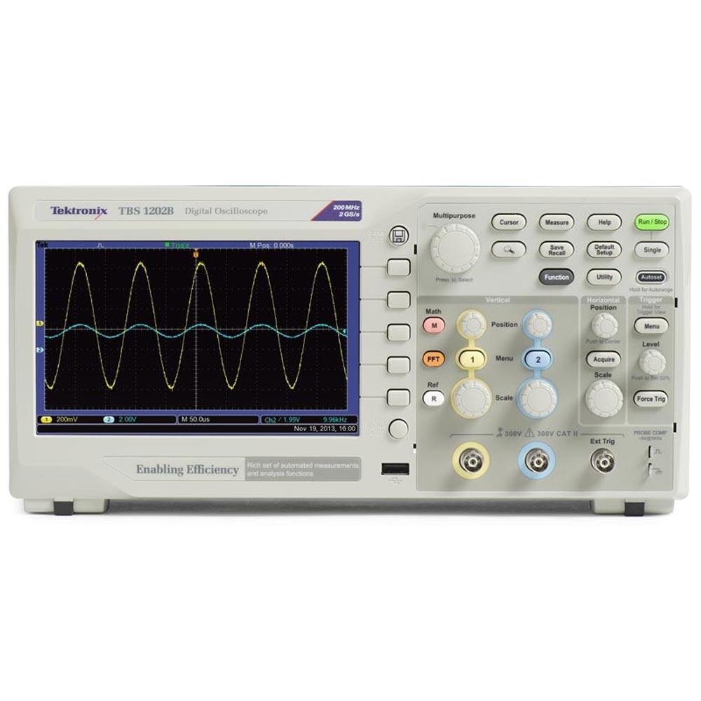TBS1152B Osciloscópio digital Tektronix 150MHz 2 Canais