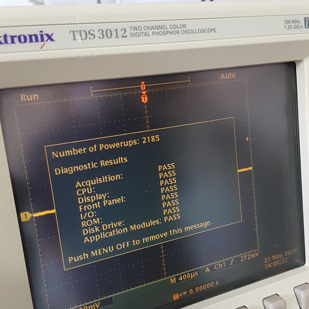 Serviço de assistência técnica em produtos de teste e medição