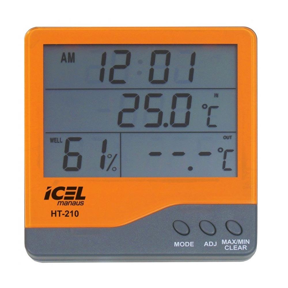 Termo-Higrômetro Digital Icel HT-210