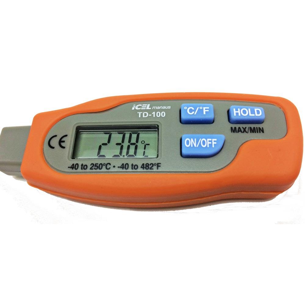 Termômetro de Vareta Digital Icel TD-100