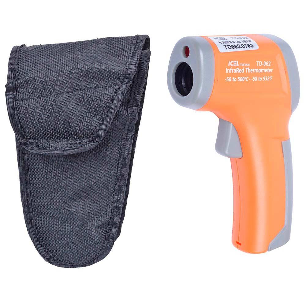 Termômetro infravermelho mira laser ICEL TD-962