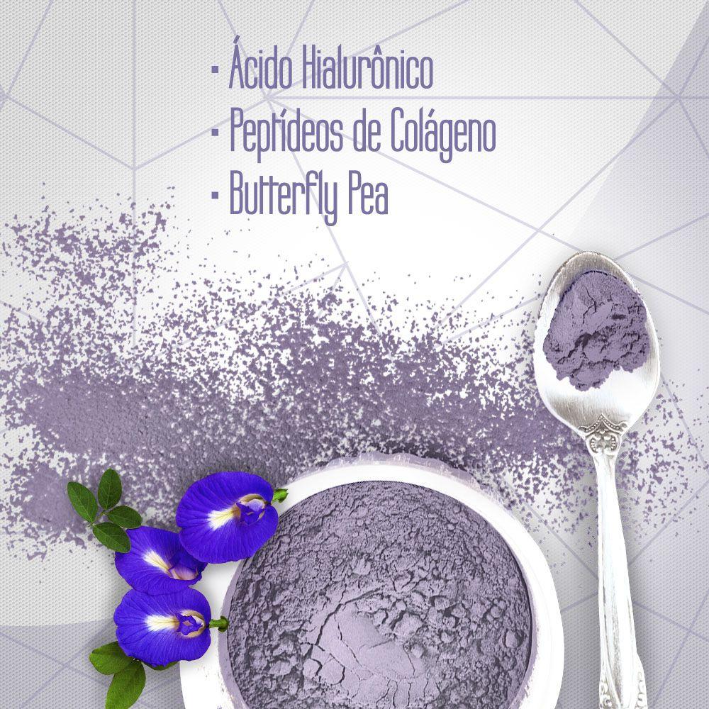 Suplemento de Acido Hialurônico em Pó com Colágeno 300g