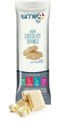 Picolé Whey Chocolate Branco