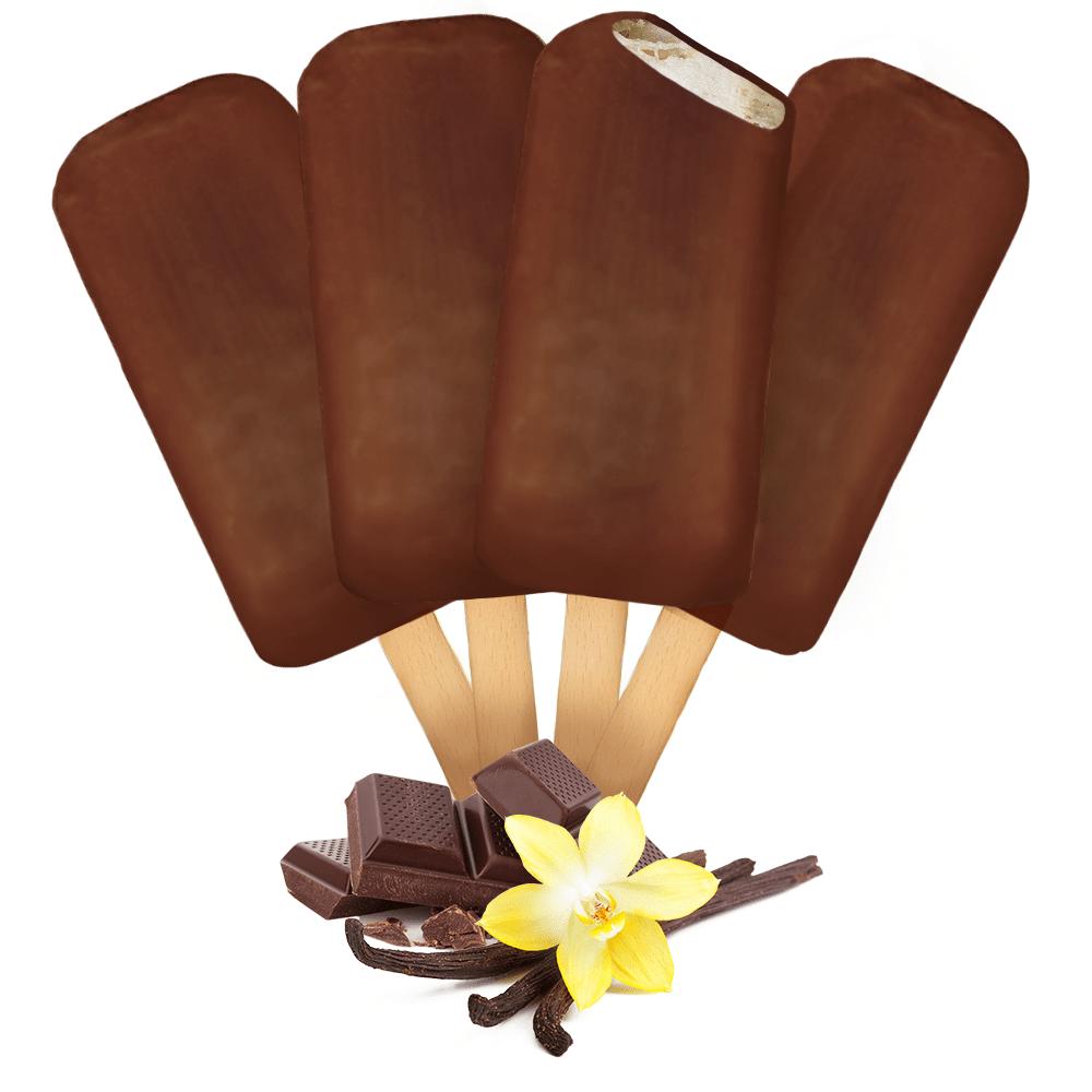 Picolé Zero Lactose Chocolate Nibs 4 unidades