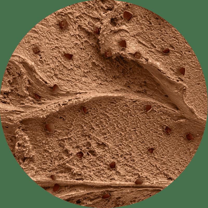 Pote de Sorvete Zero Lactose Chocolate Nibs