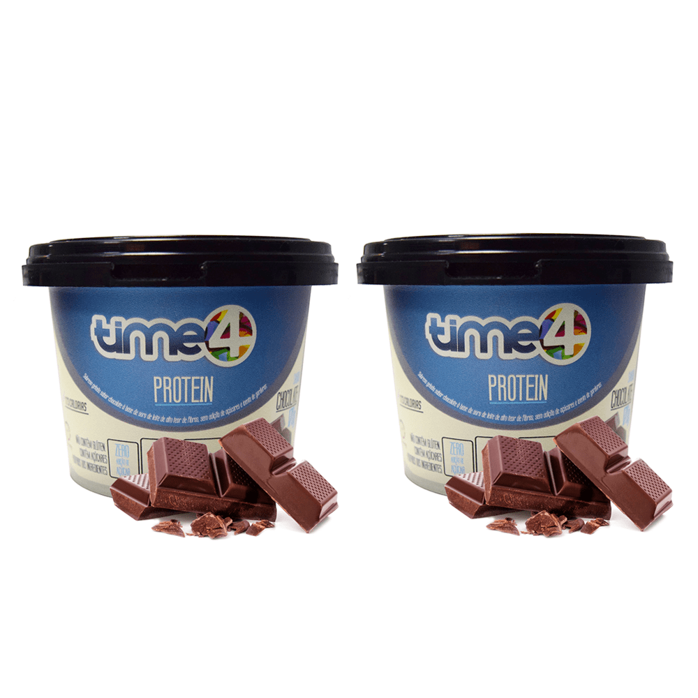 Sorvete Fit Chocolate 2 unidades de 250 ml