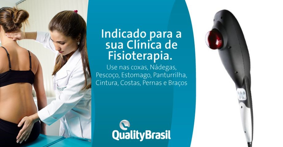 Aparelho Massageador Portatil Infra | Quality Brasil