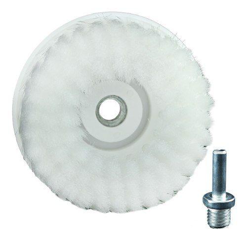 Escova Cerdas Macia Drill Detailer Branca