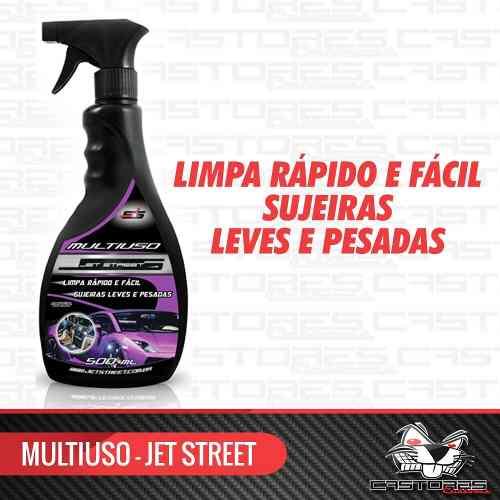 Limpador Multiuso Multiação 500ml Spray - Jet Street